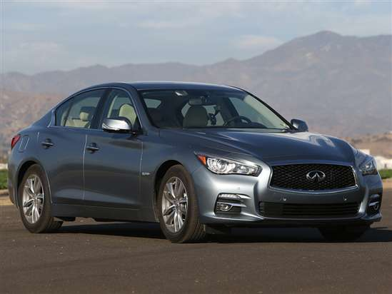 NHTSA: 2014 Infiniti Q50 Earns 5-Star Overall Safety Rating