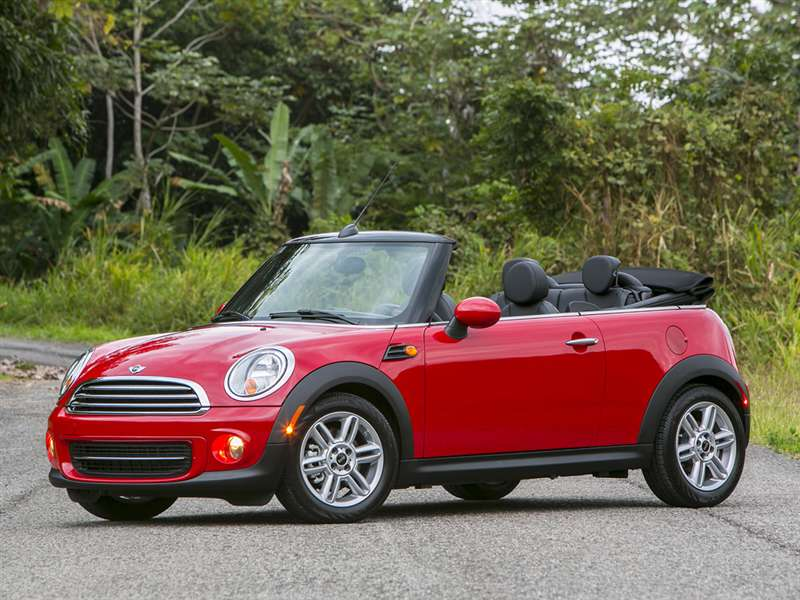 Research the 2014 MINI Convertible