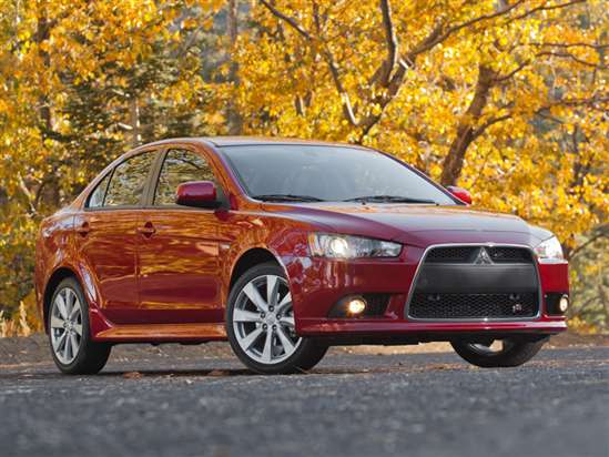 2014 Mitsubishi Lancer SE AWC Test Drive & 4WD Car Video Review
