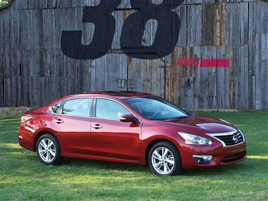 2014 Nissan Altima 3.5 SL Test Drive & V-6 Sedan Video Review
