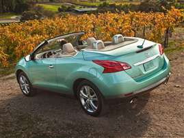 2014 Nissan Murano CrossCabriolet Base 2dr All-wheel Drive