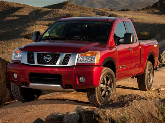 2014 Nissan Titan 4x2 Crew Cab Long Wheelbase