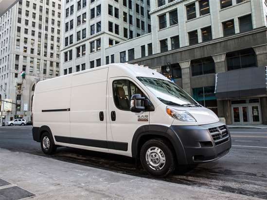 2014 RAM ProMaster 2500 Cargo/Work Van Video Review