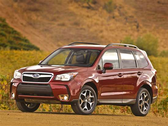 2014 Subaru Forester XT Crossover Video Review