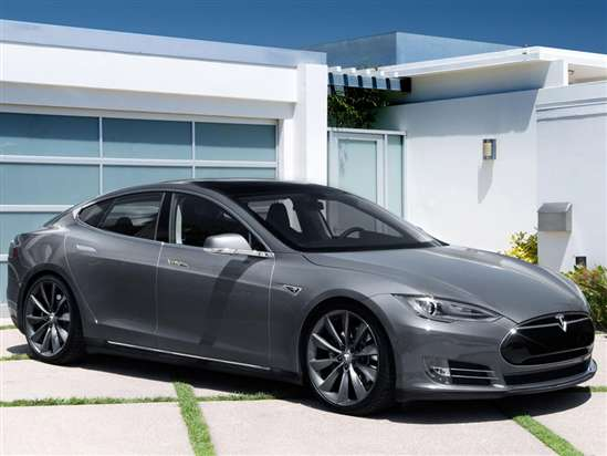 Saleen Previews Their Tesla Model S