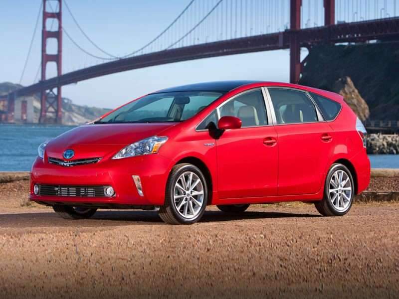2014 Toyota Prius v Pictures including Interior and ...