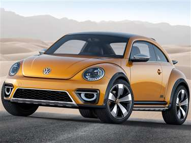 2014 Volkswagen Beetle 2.5L w/Sunroof (A6) Hatchback