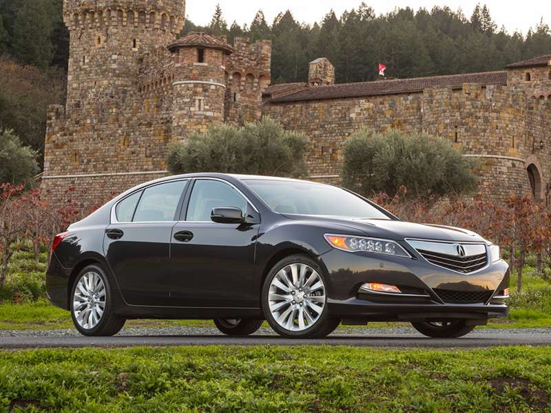 Research the 2015 Acura RLX