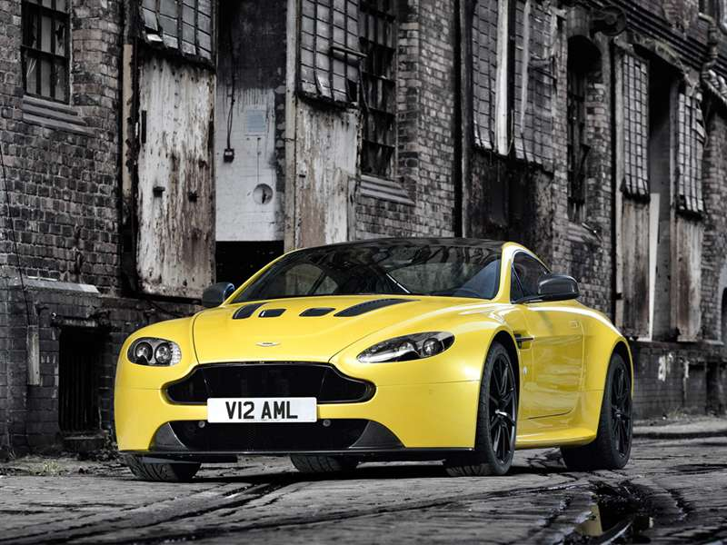 Research the 2015 Aston Martin V12 Vantage S