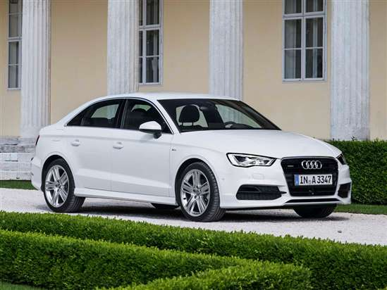 2015 Audi A3 2.0 TFSI quattro Compact Luxury Sedan Test Drive Video Review