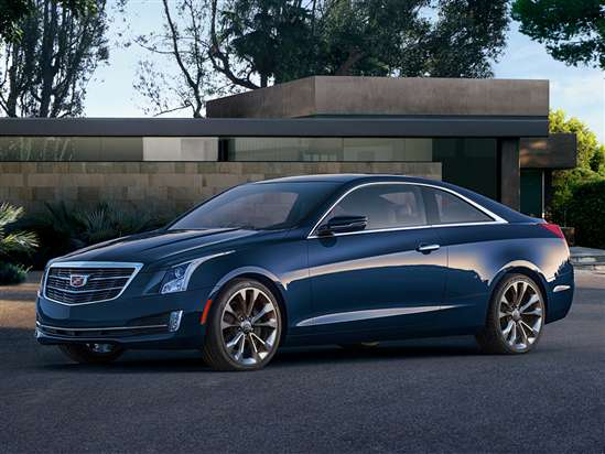 2015 Cadillac ATS Coupe 2.0T First Drive