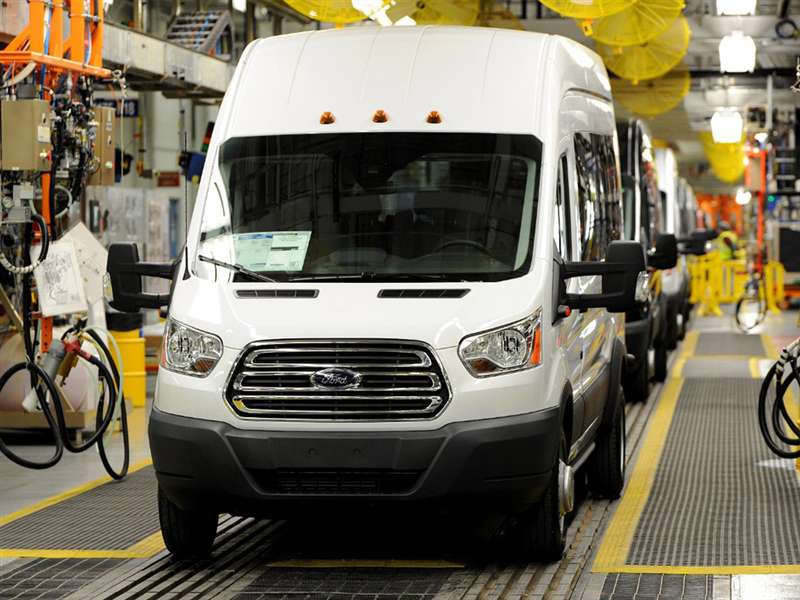 Research the 2015 Ford Transit-350