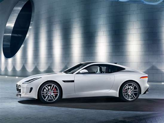 MissMotorMouth Tames the 2015 Jaguar F-Type R Coupe On-track in Spain