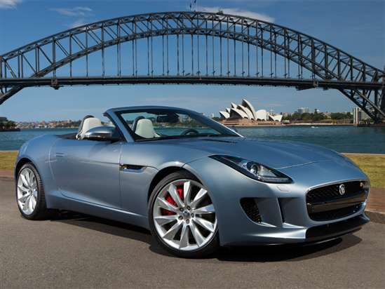 2015 Jaguar F-TYPE Base Convertible