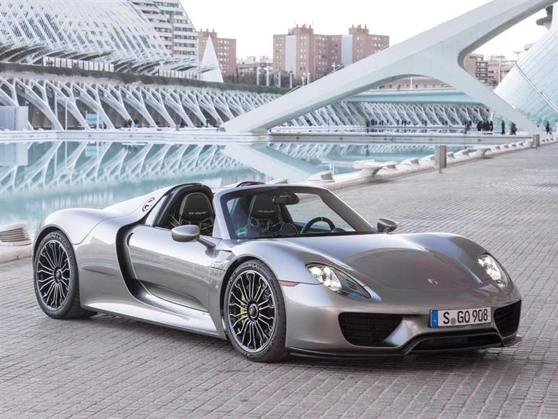 Research the 2015 Porsche 918 Spyder