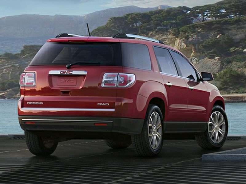 2017 gmc acadia road test and review. Black Bedroom Furniture Sets. Home Design Ideas