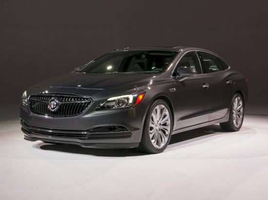 Oemexteriorfront on 2007 Buick Lacrosse White