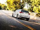 2017 Toyota Corolla iM 5 door hatchback exterior rear view on road