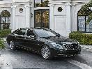 2016 Mercedes Benz S CLASS SEDAN front angle