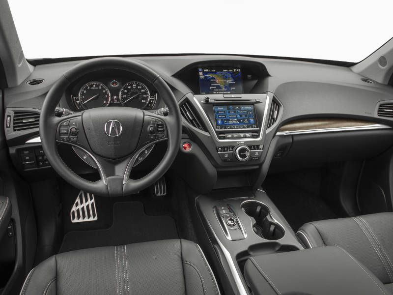 2017 acura mdx sport hybrid road test and review. Black Bedroom Furniture Sets. Home Design Ideas