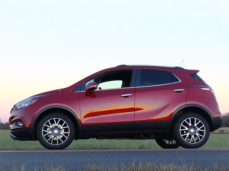 2017 Buick Encore Side Sunset