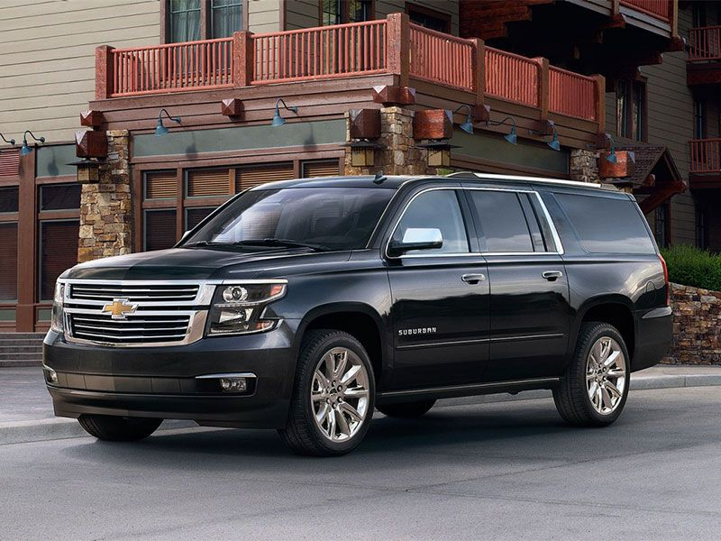 2017 Chevy Suburban Road Test and Review
