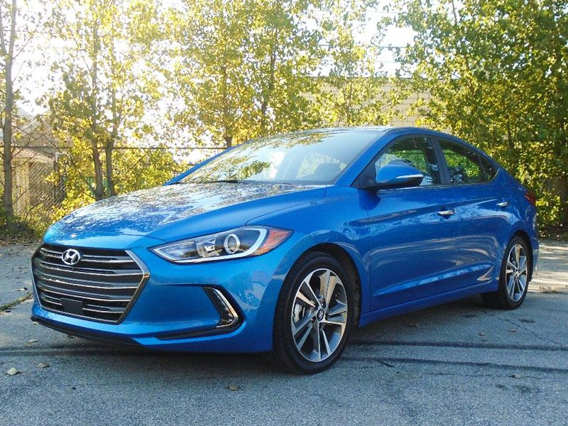 2017 Hyundai Elantra Limited Road Test and Review