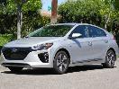 2017 Hyundai Ioniq EV Front Quarter