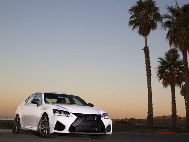 2017 Lexus GS F Road Test and Review