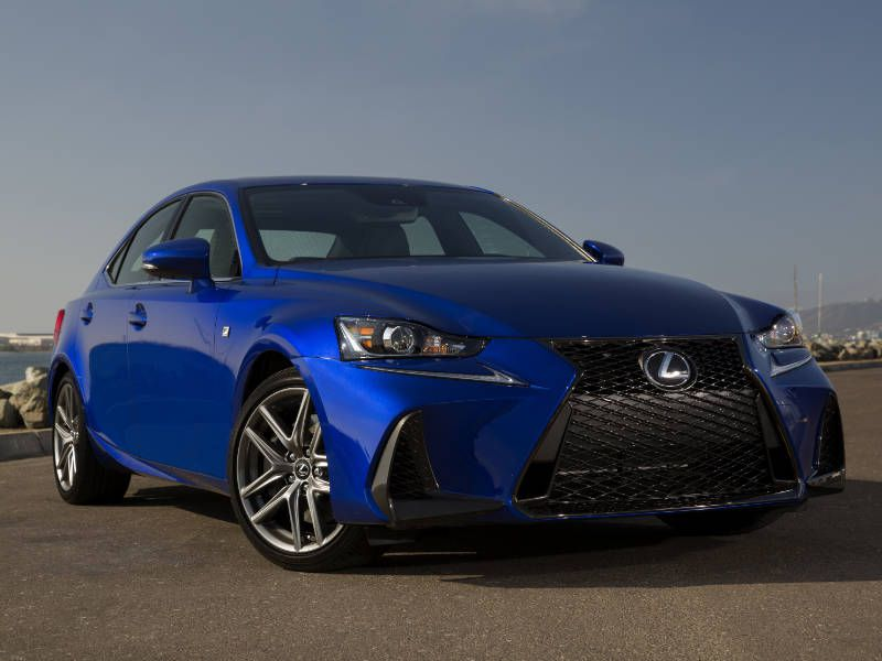 2017 Lexus IS Road Test and Review