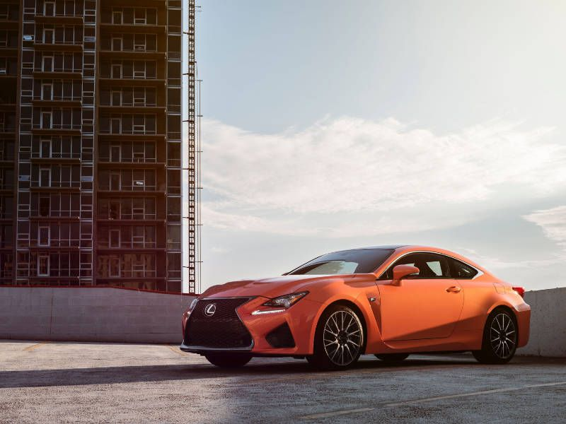 2017 Lexus RC F Road Test and Review