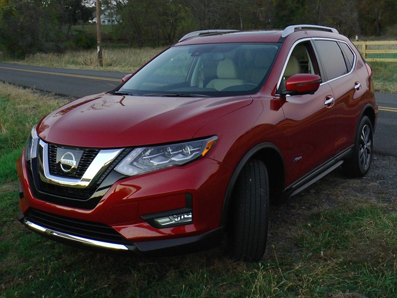 2017 nissan rogue hybrid road test and review. Black Bedroom Furniture Sets. Home Design Ideas