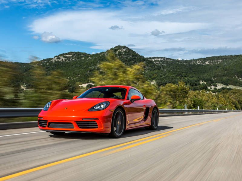 2017 Porsche 718 Cayman Road Test and Review