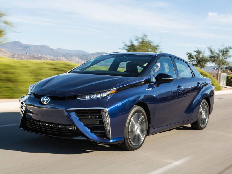 2017 Toyota Mirai Front Quarter Driver Side