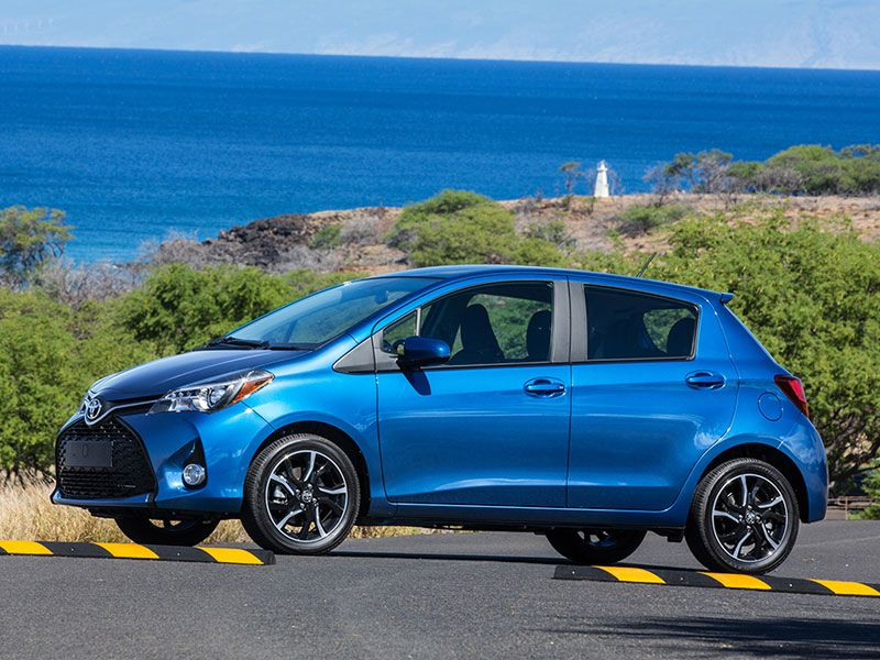 2017 Toyota Yaris Road Test and Review