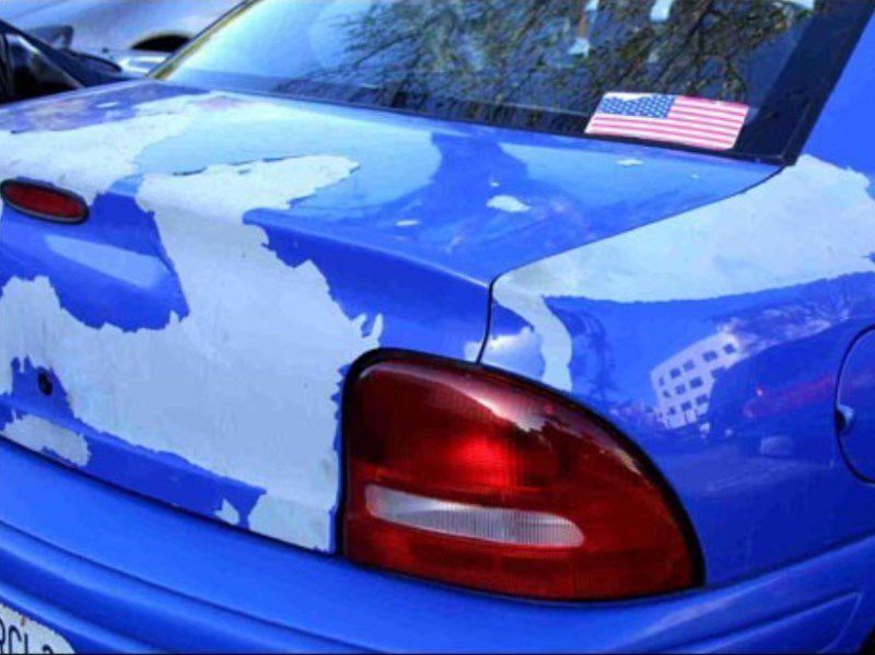 Repair Chipping Car Paint