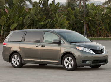 Krome on Cars on the 2011 Toyota Sienna