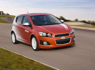 Chevrolet Prices 2012 Sonic Above Departed Aveo, Below Honda Fit