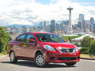 2012 Nissan Versa: Sticker Shock