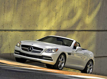 Cylinder Deactivation Added on New 2012 Mercedes-Benz SLK55 AMG