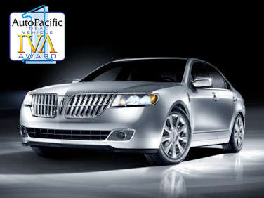 2011 AutoPacific Ideal Vehicle Awards: Luxury Mid-Size Car