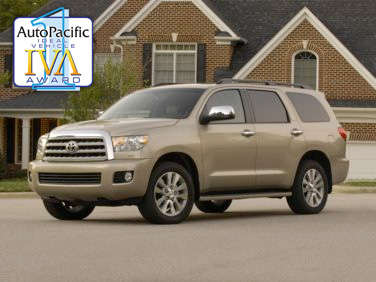 2011 AutoPacific Ideal Vehicle Awards: Large SUV
