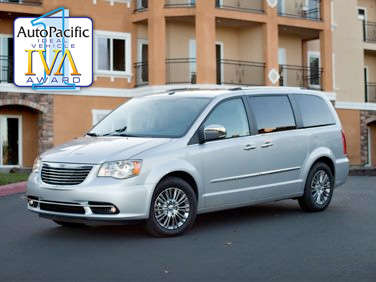 2011 AutoPacific Ideal Vehicle Awards: Minivan