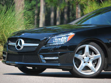 2012 Mercedes-Benz SLK350 Review: Introduction