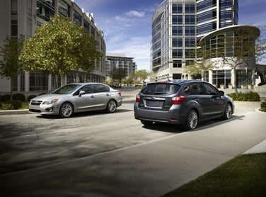 All-New 2012 Subaru Impreza Price Matches 2011 Model
