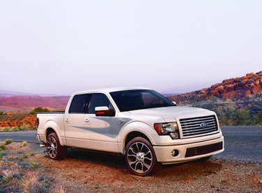 Ford Unveils the 2012 F-150 Harley-Davidson