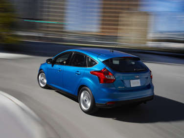 2012 Ford Focus: Peppy but not Cutesy