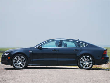 2012 audi a7 road test and review. Black Bedroom Furniture Sets. Home Design Ideas