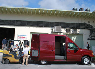 2012 Nissan NV First Drive Review