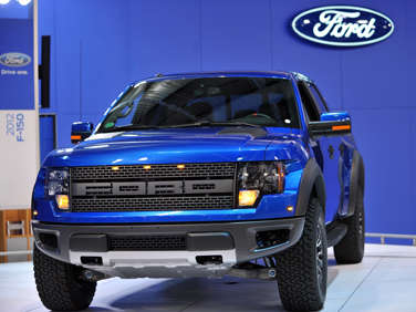 Ford Upgrades the F-150 SVT Raptor for 2012